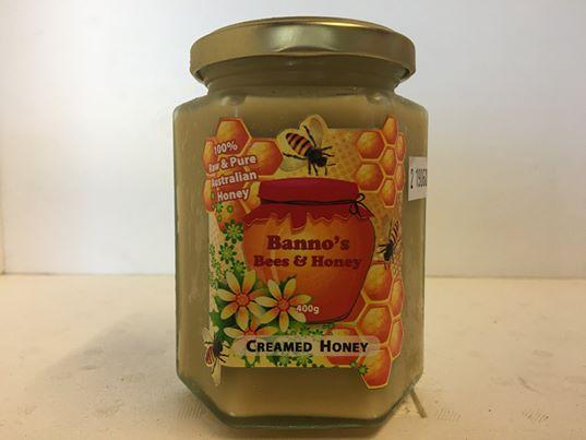 creamed honey 400g